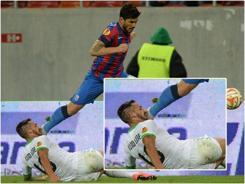 IMAGINEA SERII în Europa League   Tănase, glezna fină şi muşcătura portugheză