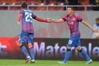 O repriză Rusescu, o repriză la vale. Steaua a câştigat datorită dublei lui Raul. Steaua - Rio Ave 2-1