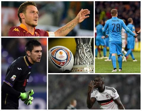 Europa League, optimi de finală | Fiorentina - Roma 1-1. Villarreal - Sevilla s-a terminat 1-3. Puşcaş a fost rezervă în Wolfsburg - Inter 3-1. Toate rezultatele serii
