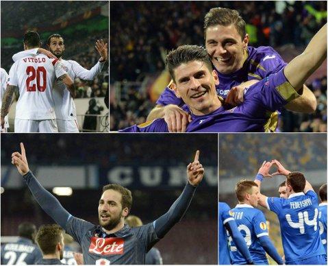 Thuram reloaded în Andaluzia. Sevilla a învins-o categoric pe Fiorentina şi are biletele pentru ultimul act asigurate. Dnepr a ţinut-o în şah pe Napoli în a doua semifinală Europa League