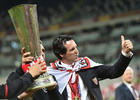 """Unai Emery, un tehnician fericit: """"Am câştigat Liga Europa sezonul trecut, putem să câştigăm şi acum, ar fi minunat"""""""