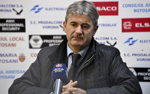 """Valeriu Iftime, după egalul dezamăgitor al lui FC Botoşani la debutul în Europa: """"Mă îmbolnăvesc dacă ne scot ăştia"""""""