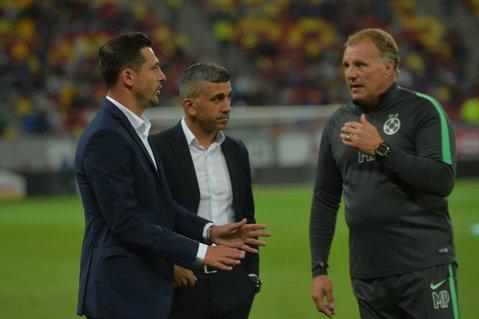 Prima reacţie a lui Rădoi după eliminarea Stelei din Europa League