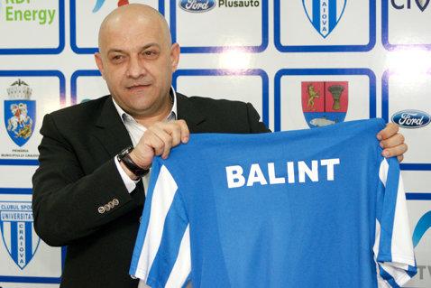"""Balint subliniază: """"Steaua trebuia să înceapă cu Tade"""". Ce spune despre situaţia Astrei"""