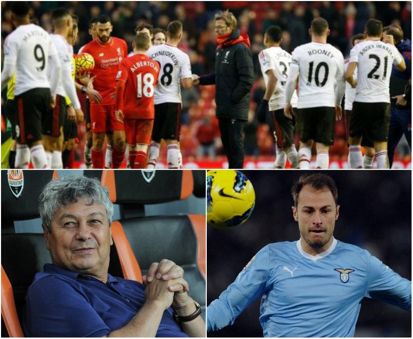 Europa League | Lazio, eliminată de Sparta Praga!  Ştefan Radu nu a fost în lot. United - Liverpool 1-1. Klopp s-a calificat în sferturi, după un meci spectaculos. Mircea Lucescu merge în sferturi. Rezultatele şi echipele calificate