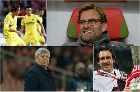 Se ştiu finalistele Europa League. Liverpool - Sevilla se va disputa pe 18 mai. Lucescu a fost eliminat în semifinale. Liverpool - Villareal 3-0, Sevilla - Şahtior 3-1