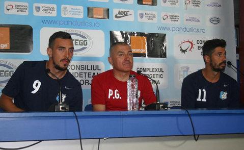 """Obiectivul Pandurilor la debutul în noul sezon de Europa League. Grigoraş: """"Mi-aş dori un rezultat fără gol primit"""""""
