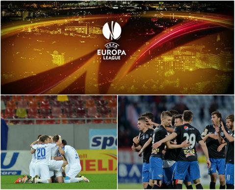 Seară de coşmar în Europa League! Gent - Viitorul 5-0. Echipa lui Hagi, umilită la primul meci european din istorie. Pandurii - Maccabi Tel Aviv 1-3 şi gorjenii au şanse infime la calificare