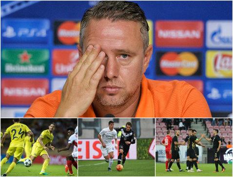Grupa Stelei în Europa League. Echipa lui Reghe se luptă pentru calificarea din din Grupa L cu Villarreal, Zurich şi Osmanlispor. Pato, Soriano, Szukala şi Rusescu vin la Bucureşti