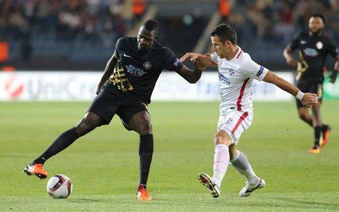 Ne-au biruit turcii! Osmanlispor - Steaua 2-0. Eliminarea lui Enache şi penalty-ul comis de Tamaş au decis meciul