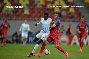 GOLubovic n-a fost de ajuns. Steaua - FC Zurich 1-1. Lovitura lui Kone a anulat primul moment bun al bosniacului şi vicecampioana rămâne ultima în Grupa L