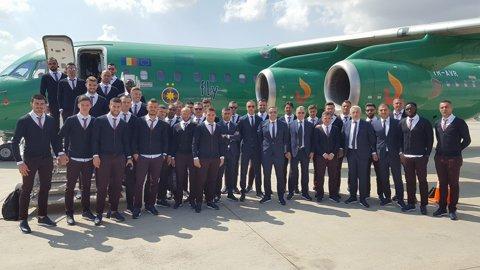 La muncă în Spania! Avionul Stelei a făcut escală în Italia, în drumul spre Villarreal. Vicecampionii au zburat 5 ore şi jumătate până în Spania, după 2 decolări şi 2 aterizări
