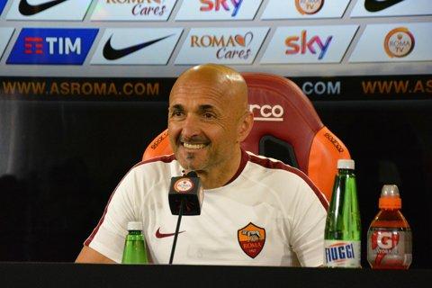 """Luciano Spalletti, avertisment pentru Astra: """"Am lăsat acasă mai mulţi jucători, dar vrem să câştigăm pentru a creşte brandul Roma"""""""