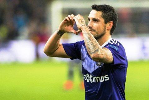 OFICIAL | Performanţă formidabilă reuşită de Stanciu cu Anderlecht! Românul a fost votat jucătorul săptămânii în Europa League