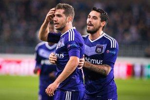 """Stanciu: """"A fost incredibil!"""" Românii lui Anderlecht, impresionaţi de experienţa meciului de pe Old Trafford. Ce le-a spus antrenorul la final"""