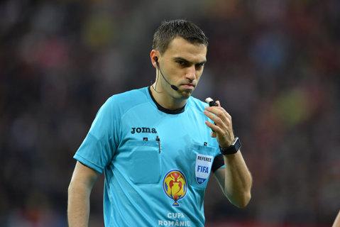 Meciul de care depinde sezonul lui Mourinho, arbitrat de un român! Haţegan va fi la centru la Manchester United - Celta Vigo