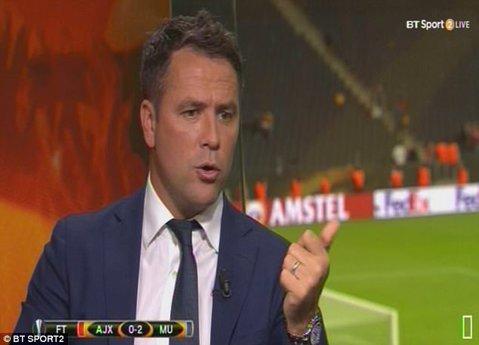 Michael Owen, gafă incredibilă în direct! Fanii lui Liverpool au deschis imediat o petiţie. Ce a spus fostul atacant în timpul finalei Europa League