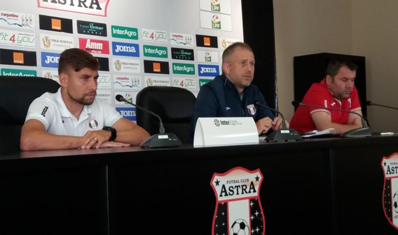"""Start pentru Astra în noul sezon al Europa League. Edi Iordănescu: """"Mi-ar fi plăcut să pot spune că suntem favoriţi cu Zira, dar trebuie să fiu precaut o astfel de afirmaţie"""""""