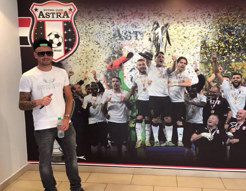 """Prima reacţie pentru Le Tallec după ce a debutat cu gol pentru Astra: """"Viaţa e ciudată uneori, acum am ajuns aici"""""""