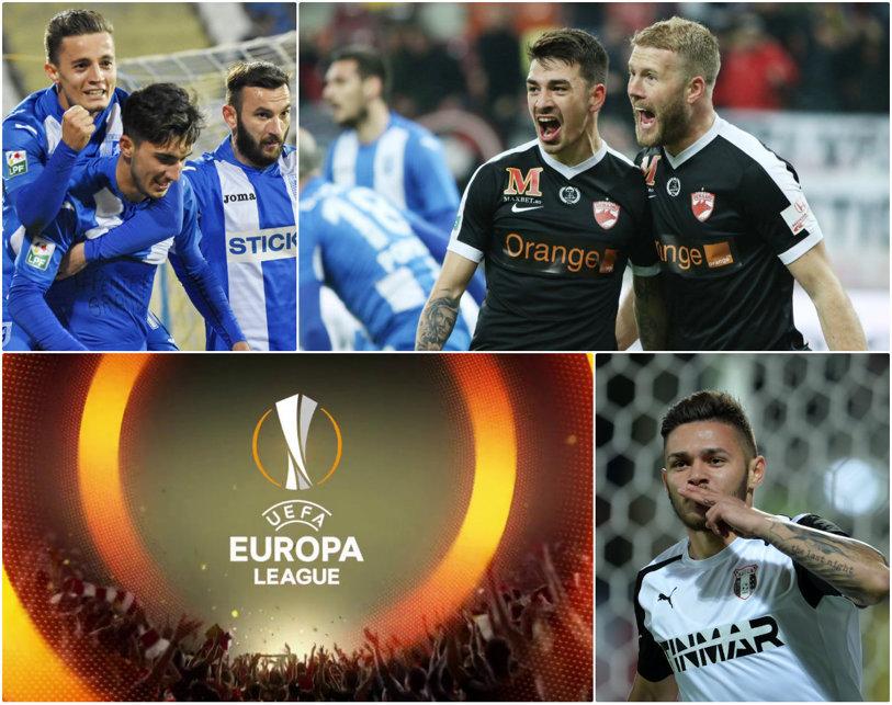 Tragerea la sorţi pentru turul al treilea al Europa League: Dinamo - Athletic Bilbao, CS U Craiova - AC Milan, Astra - Oleksandriya