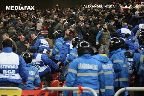 Peste 350 de jandarmi vor asigura ordinea publică la meciul Dinamo-Athletic Bilbao