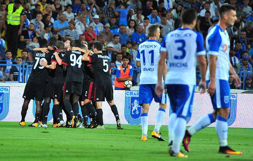"""Marcel Popescu, după ce Craiova a fost eliminată de AC Milan: """"Dacă Mitriţă înscria, le cam îngheţa sângele în vene! Donnarumma a fost eroul lor. Ei n-au avut ocaziile pe care le-am avut noi"""""""