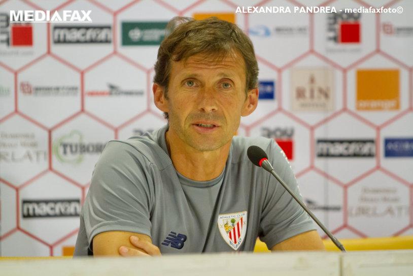 """Discursul antrenorului lui Bilbao după 3-0 cu Dinamo: """"E meritul jucătorilor, trebuie să-i felicităm!"""" Ce l-a impresionat cel mai tare: """"E un sentiment pe care nu-l poţi uita"""""""