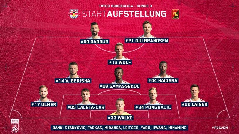 Viitorul, trezeşte-te! Salzburg şi-a distrus adversara din ultima etapă de campionat! Adversarii trupei lui Hagi din Europa League au urcat pe primul loc în Austria