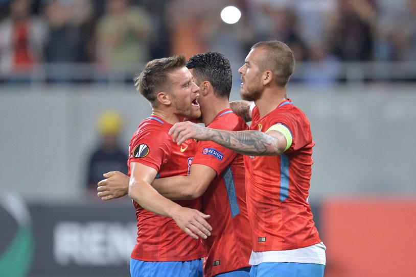 LIVE BLOG | FCSB - Viktoria Plzen 3-0. Budescu şi Alibec îi asigură lui Dică un debut perfect în grupele Europa League! Cei doi au colaborat spectaculos la o reuşită superbă a vicecampioanei