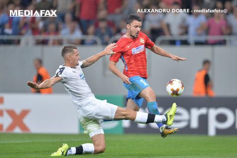 Start lansat: FCSB - Plzen 3-0. Cronica unui meci în care defensiva l-a ascultat pe Dică, iar Budescu şi Alibec au făcut show