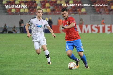 Budescu, fotbalistul săptămânii în Europa League! Playmaker-ul FCSB i-a depăşit pe Andre Silva, Alexis Sanchez sau Aleksandr Kokorin