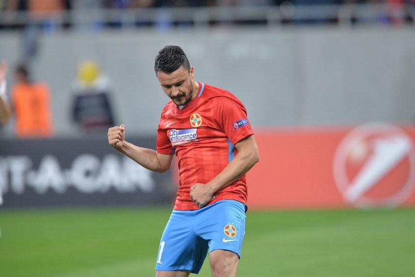 Nominalizat pentru a doua oară consecutiv la titlul de jucătorul etapei în Europa League, Budescu a ieşit pe locul al doilea. Cine l-a întrecut