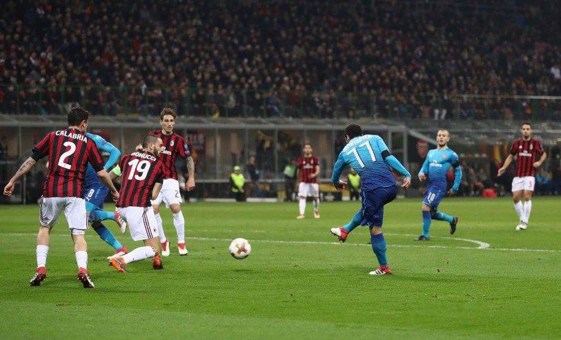 Europa League | Arsenal câştigă derby-ul cu Milan, Dortmund pierde acasă cu Salzburg, iar Lazio remizează pe Olimpico cu Dynamo Kiev!