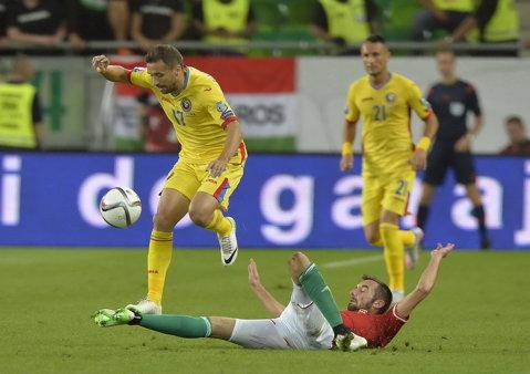 Ungaria - România, 0-0 ca-ntre vechi cunoştinţe. Ei, heirupişti, noi, betonişti. Dacă mai dăm şi goluri, vom fi simpatici la Euro 2016
