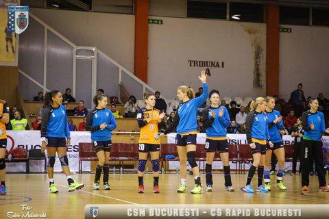 Rezultat perfect pentru CSM Bucureşti: Savehof a dat lovitura, 32-24 cu Midtjylland. Dacă o învinge marţi pe Vardar, echipa Capitalei are locul asigurat în sferturile Ligii Campionilor