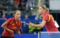 Bronz pentru Samara şi Dodean în proba de dublu a Europeanului de tenis de masă. În semifinale au pierdut în decisiv cu nemţoaicele Shan Xiaona / Petrisa Solja