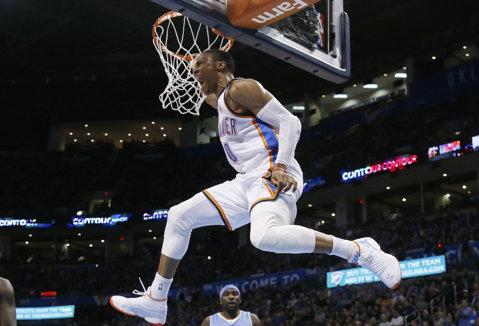 Russell Westbrook a înscris 58 de puncte într-un meci şi totuşi echipa lui, Oklahoma City Thunder, a pierdut!