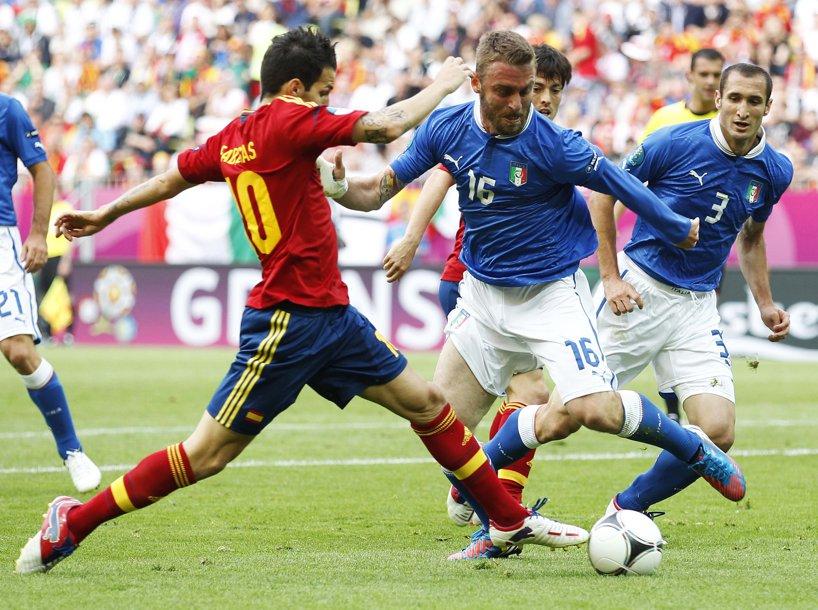 Spania - Italia, în imagini!** SUPER-FOTO cu cele mai spectaculoase momente oferite de ultimele două campioane mondiale