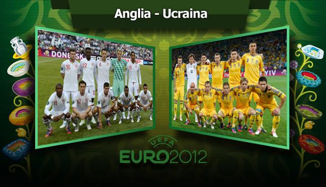 """Spania - Franţa şi Italia - Anglia, în SFERTURI! """"Coafaţi"""" de Rooney! Anglia - Ucraina 1-0! Ucrainenii au avut un gol anulat: 3 arbitri nu au văzut mingea în poartă"""