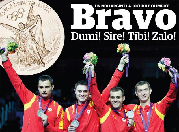 Medalie de argint la sabie! România - Coreea de Sud 26-45! Transmite un mesaj băieţilor lui Covaliu
