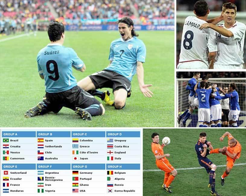 Grupele CM 2014: Olanda şi Spania în aceeaşi grupă, trei campioane mondiale se luptă pe două locuri. Tabloul complet şi televizările