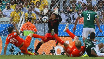 Mexic, 'blestemată' la Campionatul Mondial: din 1994 nu a mai trecut de optimi. Olanda a egalat performanţa stabilită de Germania în 1970