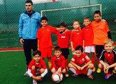 Edan, băiatul lui Victor Piţurcă, joacă fotbal la Dinamo