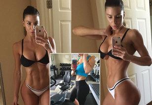 Secretele unei vedete Instagram! GALERIE FOTO | Cum a ajuns o fanatică a fitness-ului la 800.000 de abonaţi