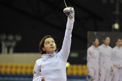 Ana Maria Brânză, medaliată cu argint în prima etapă a Cupă Mondială de spadă din acest sezon
