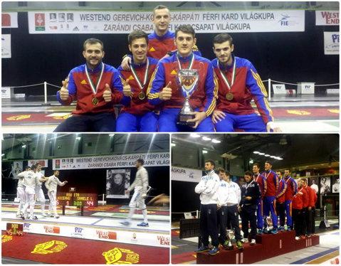 Dolniceanu&Co, victorie la tuşă decisivă în Cupa Mondială, la Budapesta