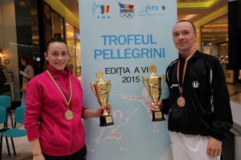 Isabelle Stan şi Radu Dărăban au câştigat Trofeul Pellegrini la floretă seniori
