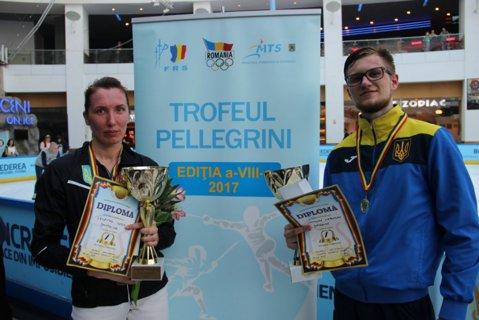 Schimb de gardă la turneul de floretă organizat în AFI Cotroceni: Ucraina a luat ambele titluri la Trofeul Pellegrini. Pentru prima dată de la debutul din 2010, România a pierdut ambele finale