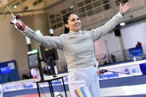 Diva scrimei româneşti, medalie de aur la Cupa Mondială de la Atena