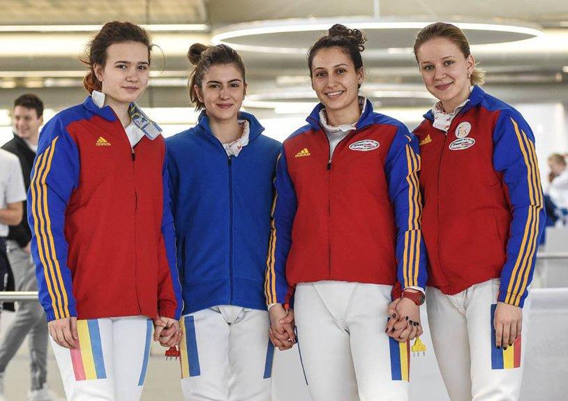 Scrima, pe val! Echipa spadasinelor junioare a cucerit medalia de argint la Campionatele Mondiale de cadeţi şi juniori de la Verona